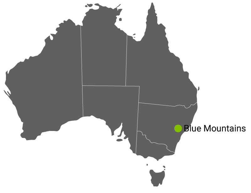 Kart Blue Mountains