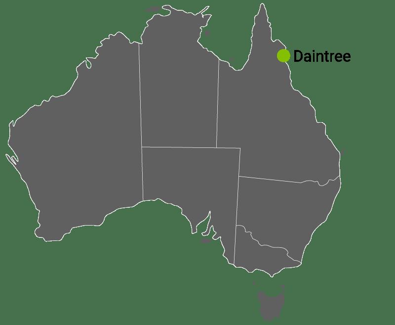 Kart Daintree