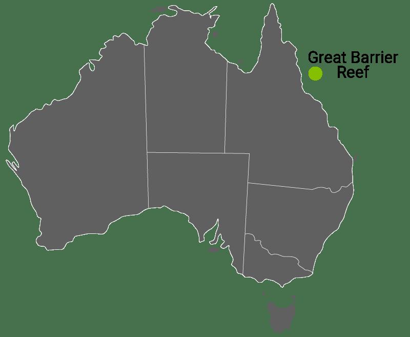 Kart Great Barrier Reef