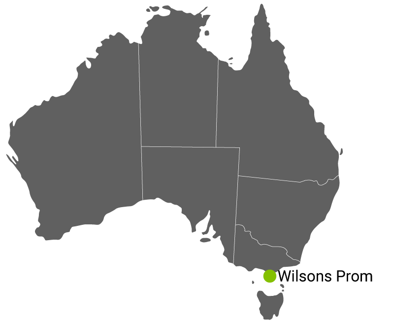 Kart Wilsons Promontory