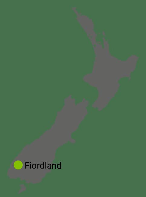 Kart Fiordland