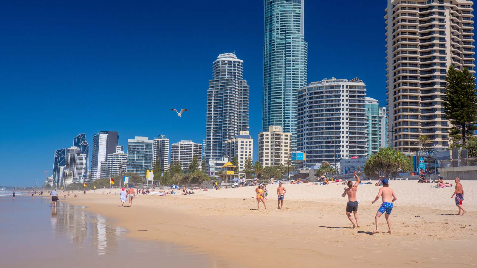 Surfers Paradise på Gold Coast.