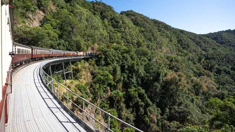 Kuranda Scenic Railway.