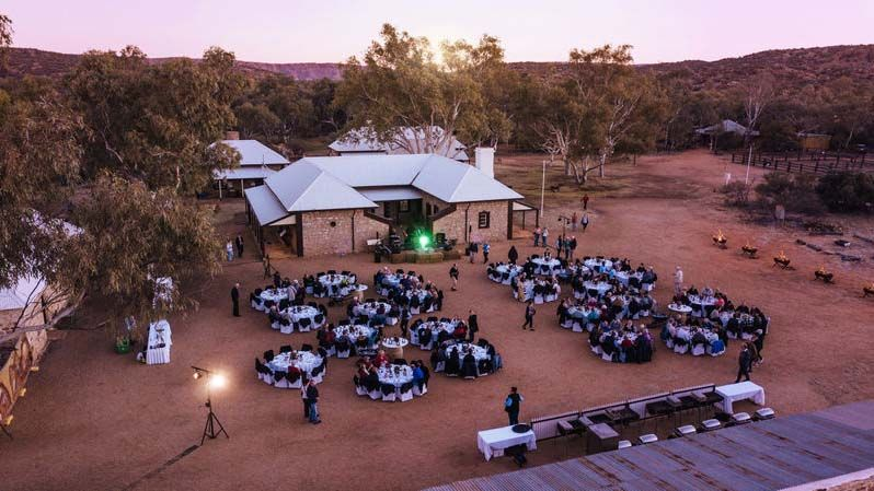 Alice Springs Telegraph Station.