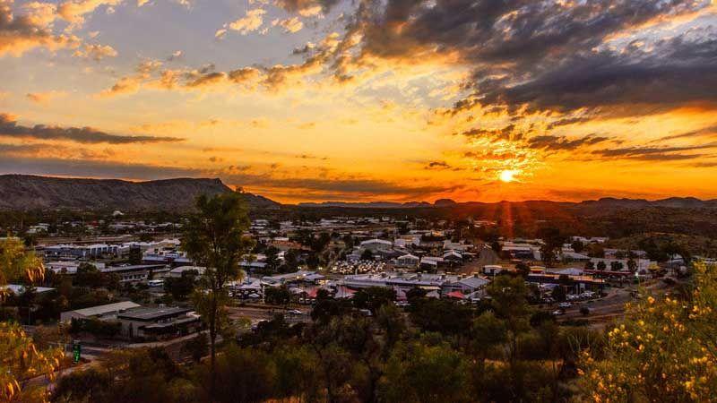Alice Springs.
