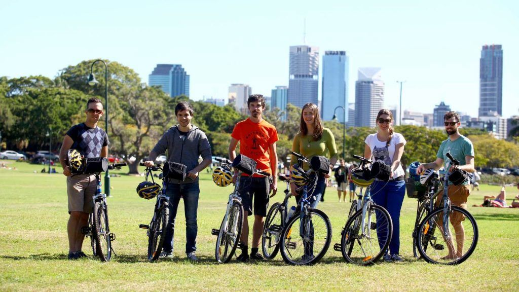 Brisbane by Bicycle.