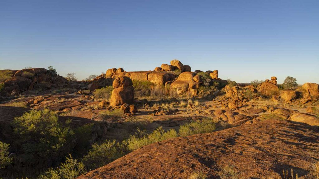 The Devils Marbles.