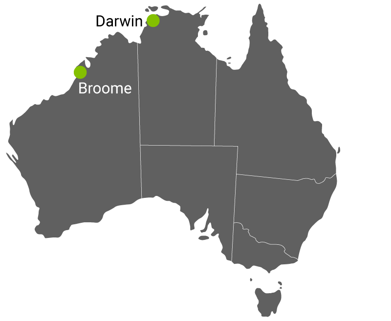Kart Darwin Broome.