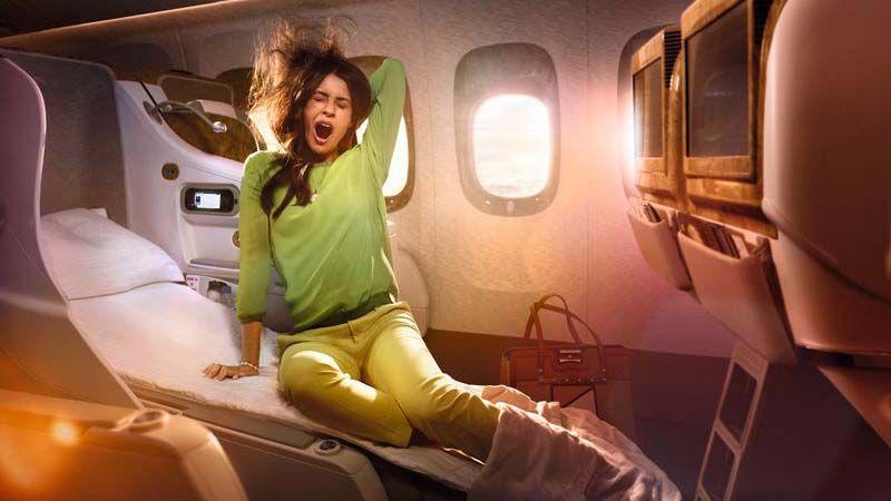 Emirates Business Class.