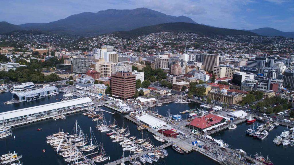 Hobart.