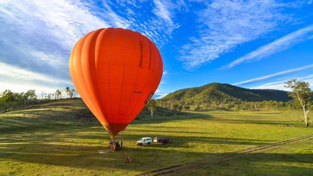 Hot Air Balloon Cairns.