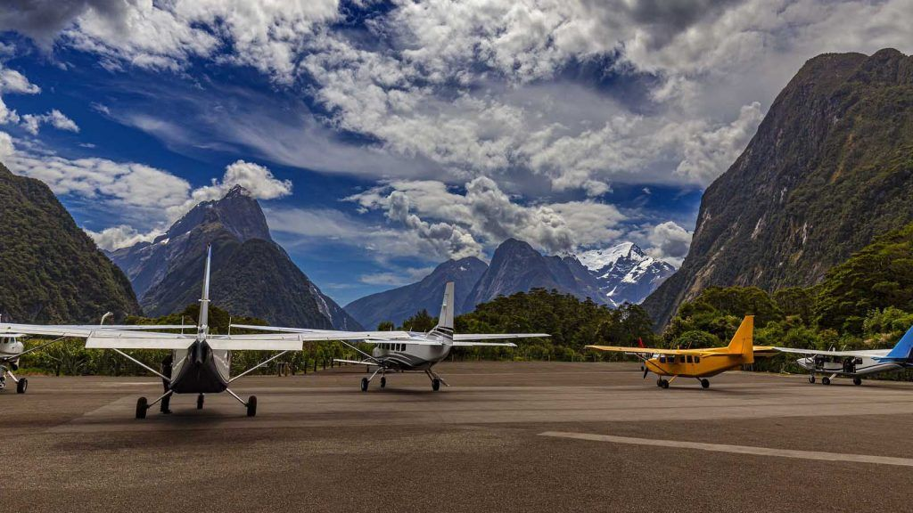 Milford Sound Airport.