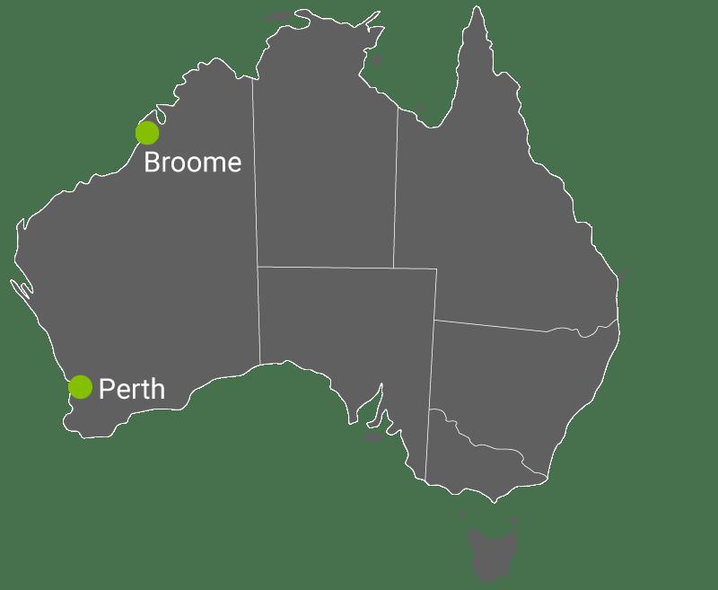Kart Perth-Broome.