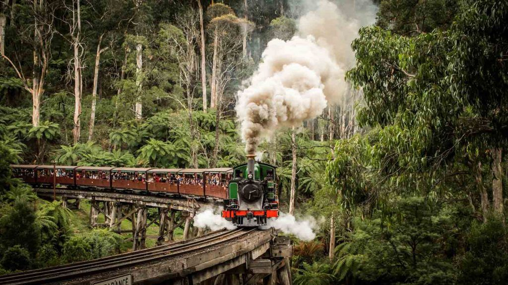 Puffing Billy.
