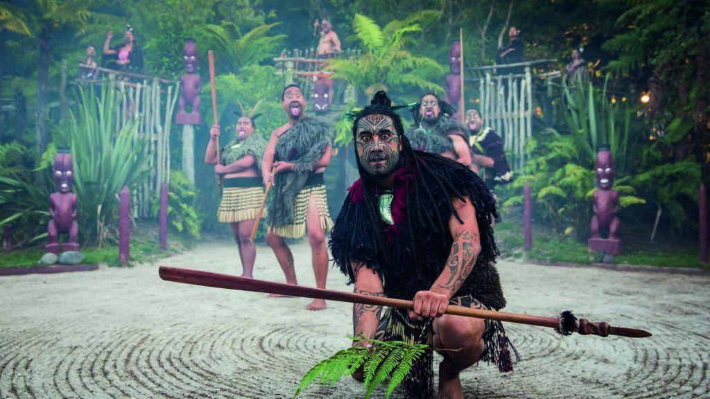 Maori show.