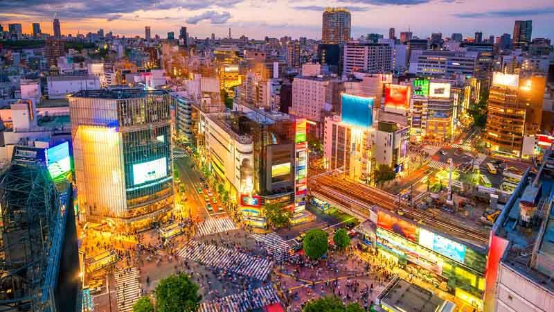 Shibuya Crossing i Tokyo.