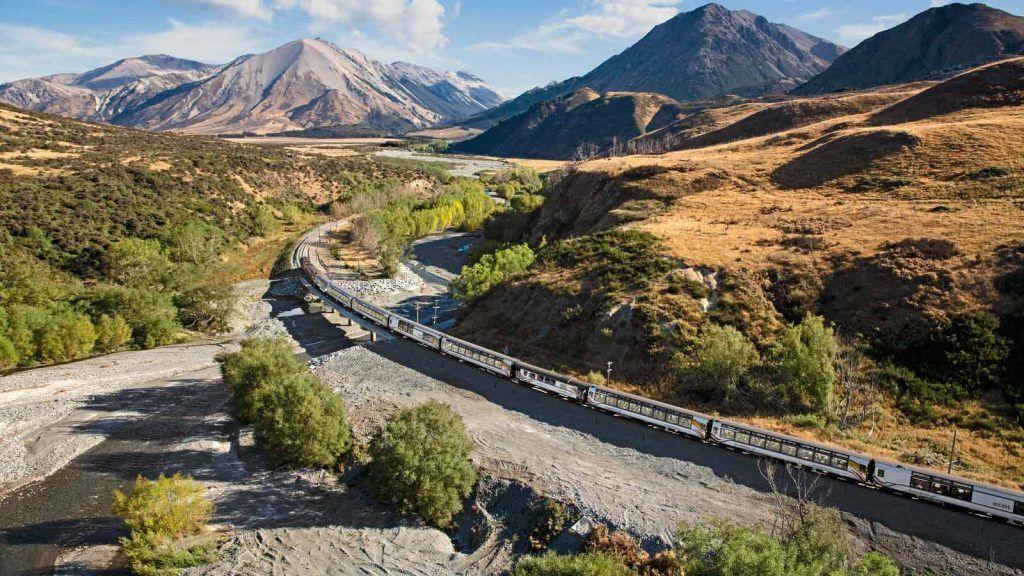 TranzAlpine New Zealand.