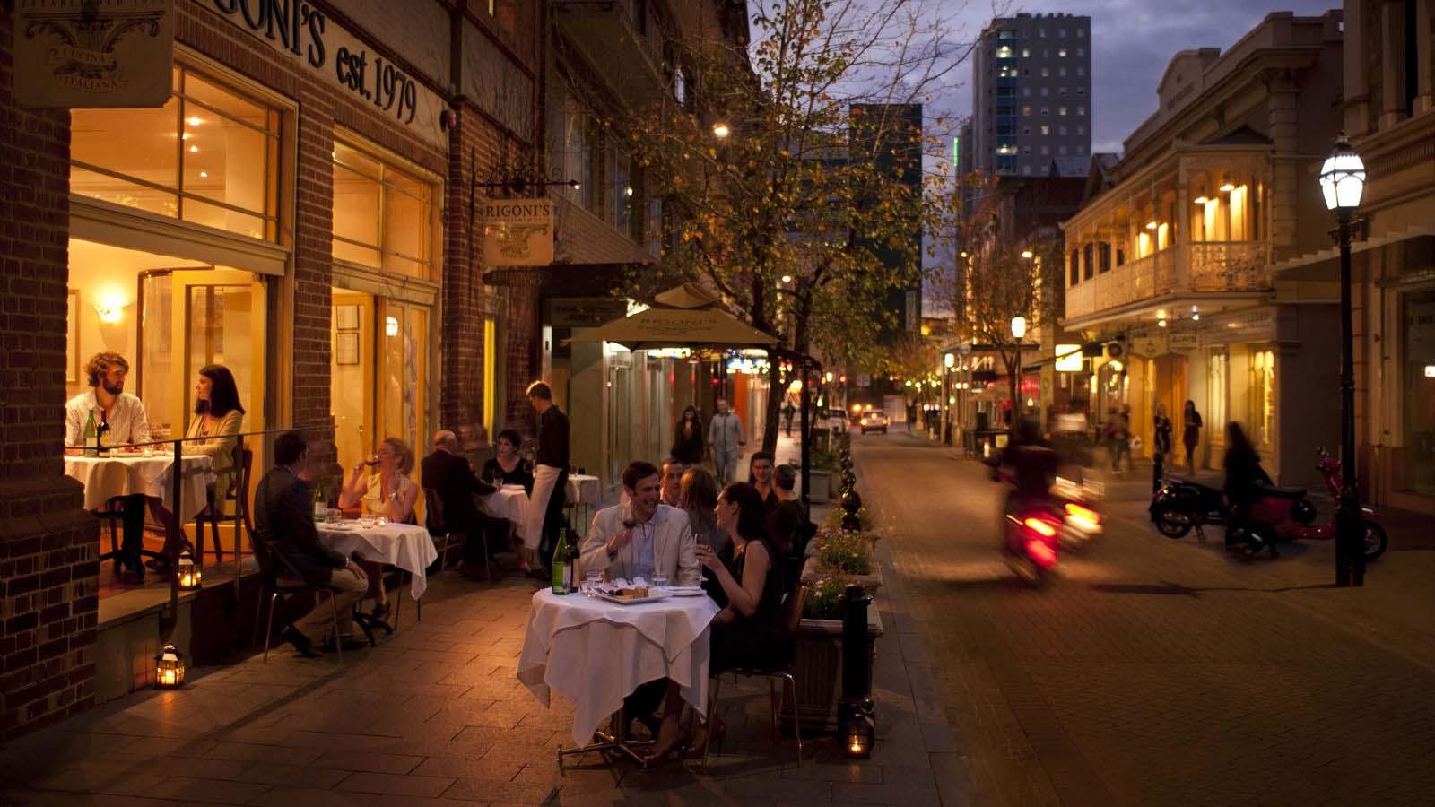 Rigoni's Bistro i Adelaide.