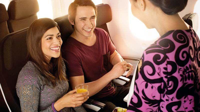 Air New Zealand - Economy Class