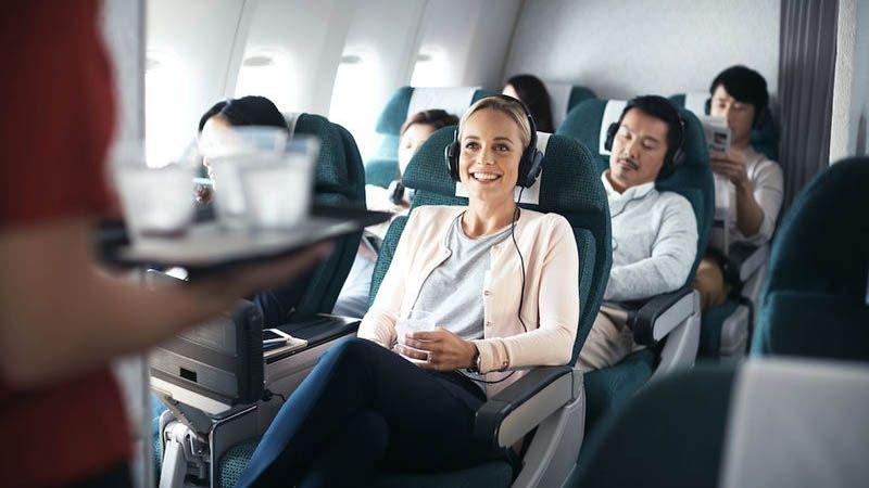 Cathay Pacific - Premium Economy Class
