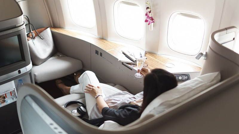 Cathay Pacific - First Class