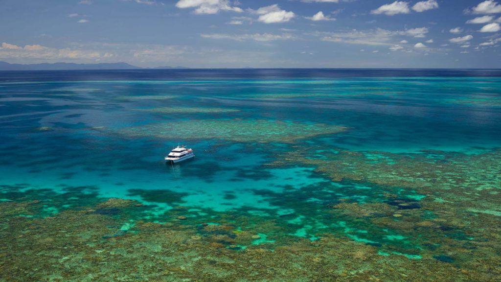 Poseidon på Agincourt Reef.
