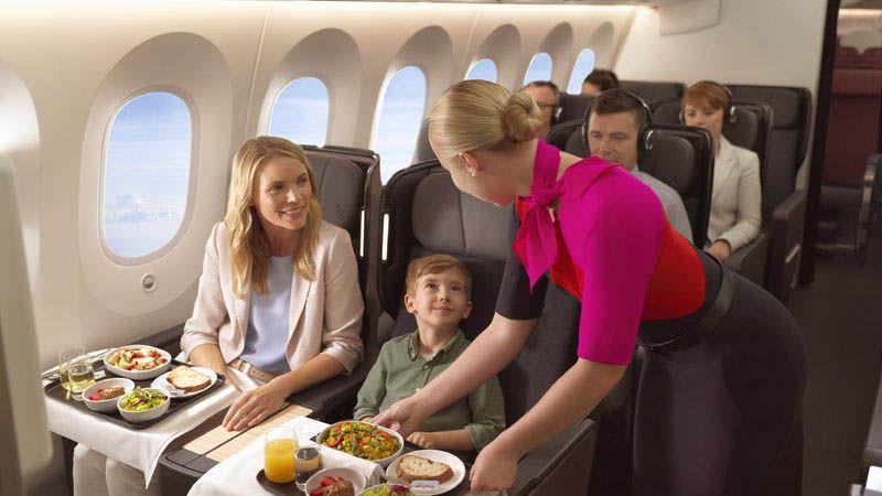 Qantas - Premium Economy Class