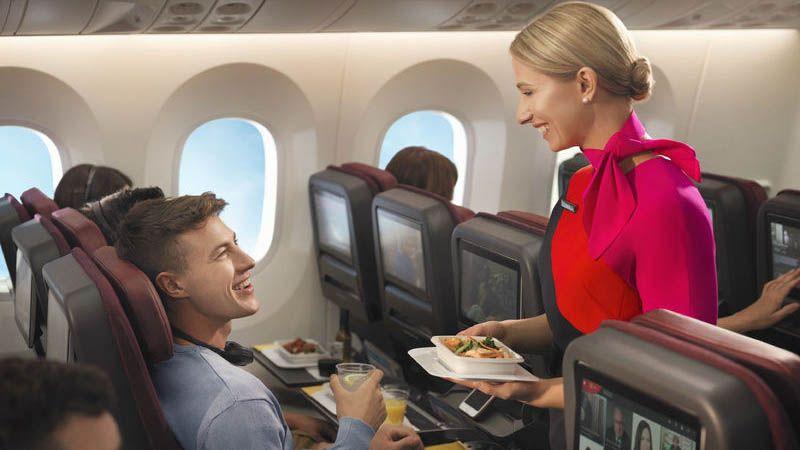 Qantas - Economy Class