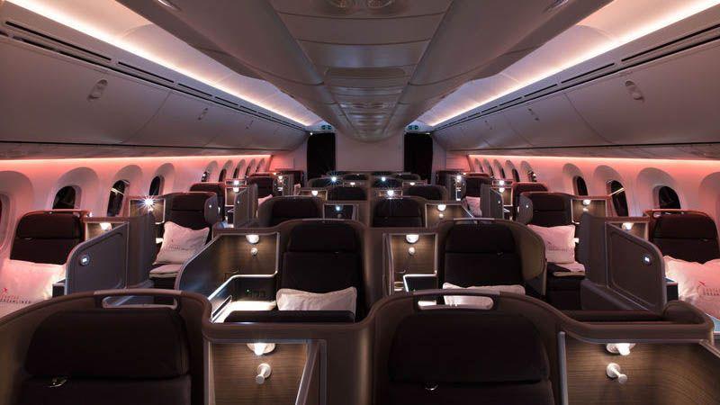 Qantas - Business Class