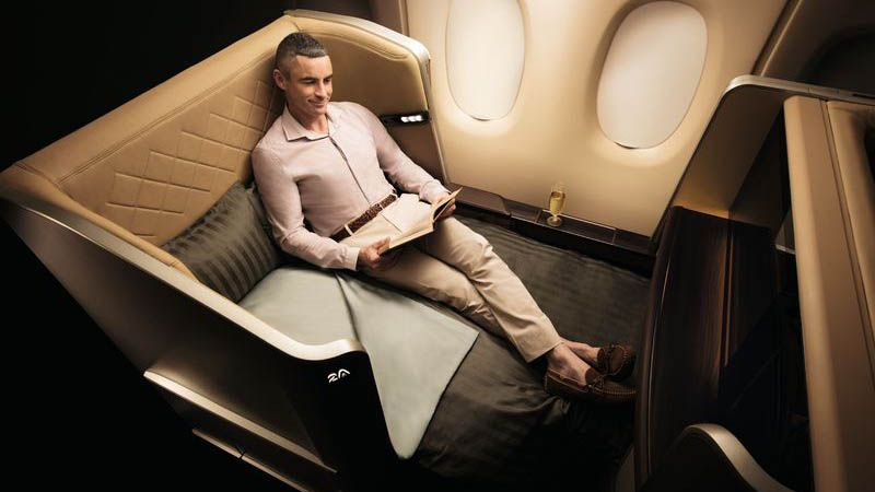 Singapore Airlines - First Class.