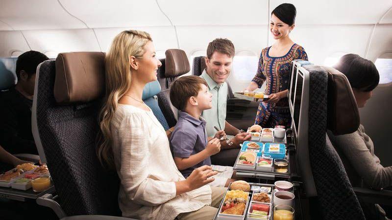 Singapore Airlines - Economy Class