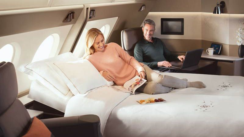 Singapore Airlines - First Class Suite