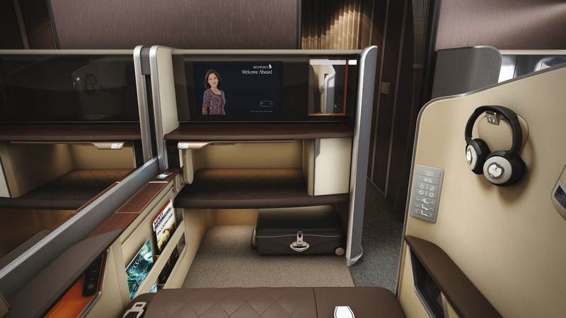 Singapore Airlines - First Class