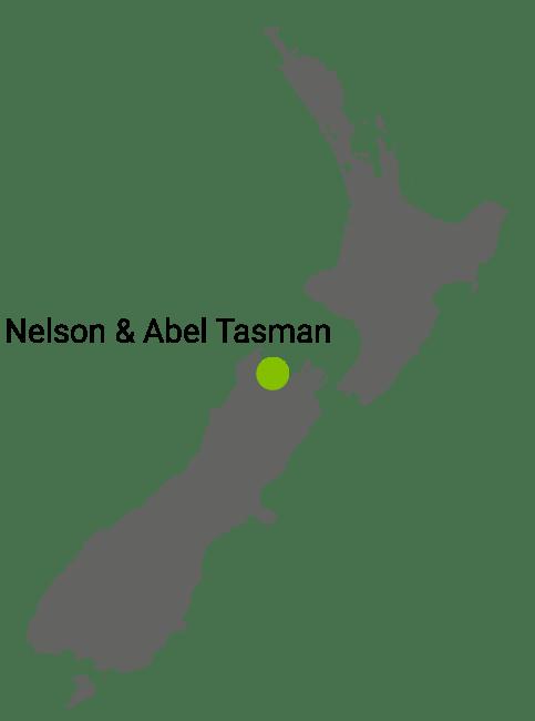 Kart Nelson og Abel Tasman